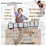 Newsies Dance Class
