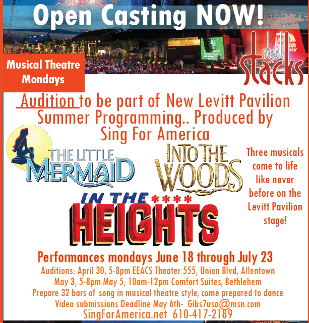 5b7f97c45fb Summer Company Auditions - Sing For America