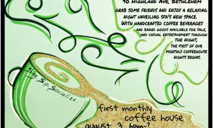 Sing for America's Inaugural Monthly CoffeeHouse