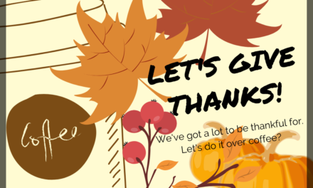 November CoffeeHouse – Let's Give Thanks!