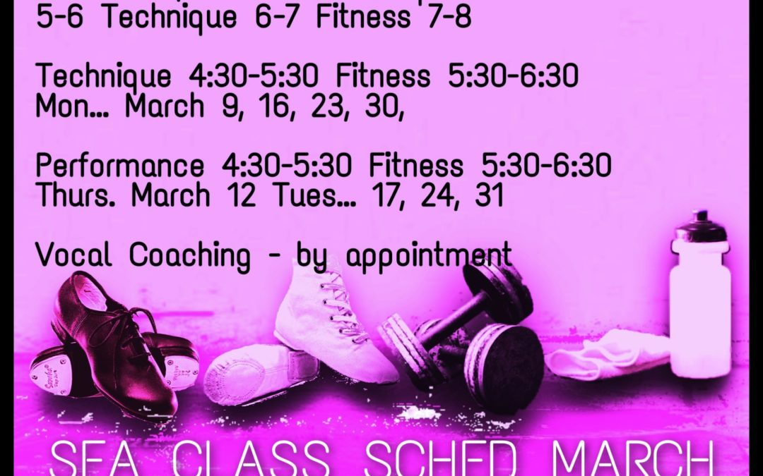 MARCH: SFA Dance and Fitness