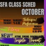 October Classes!