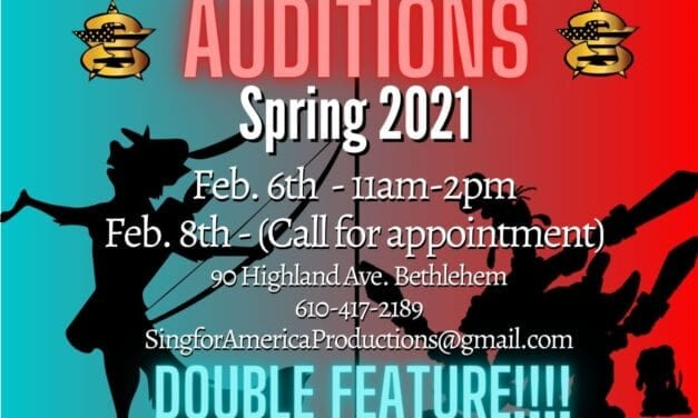 Auditions: Spring 2021